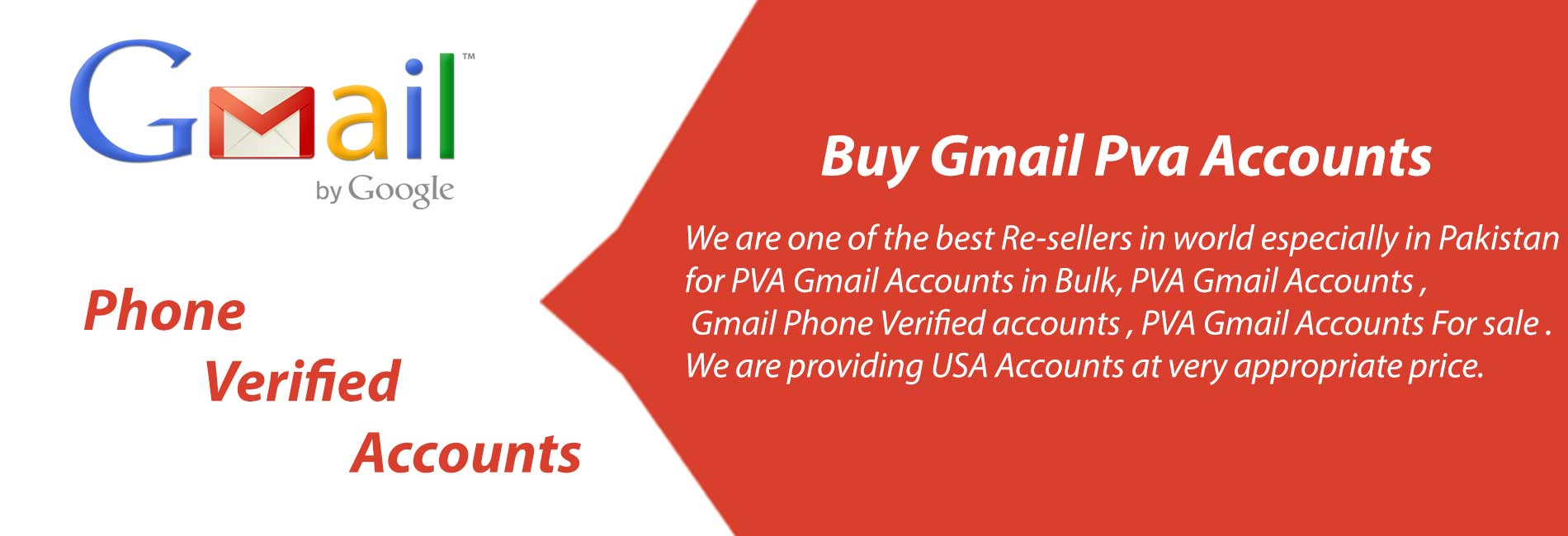 Buy Bulk Gmail Pva Accounts at Pvacorner com